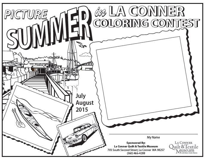 Picture Summer in La Conner Coloring Contest – Love La Conner